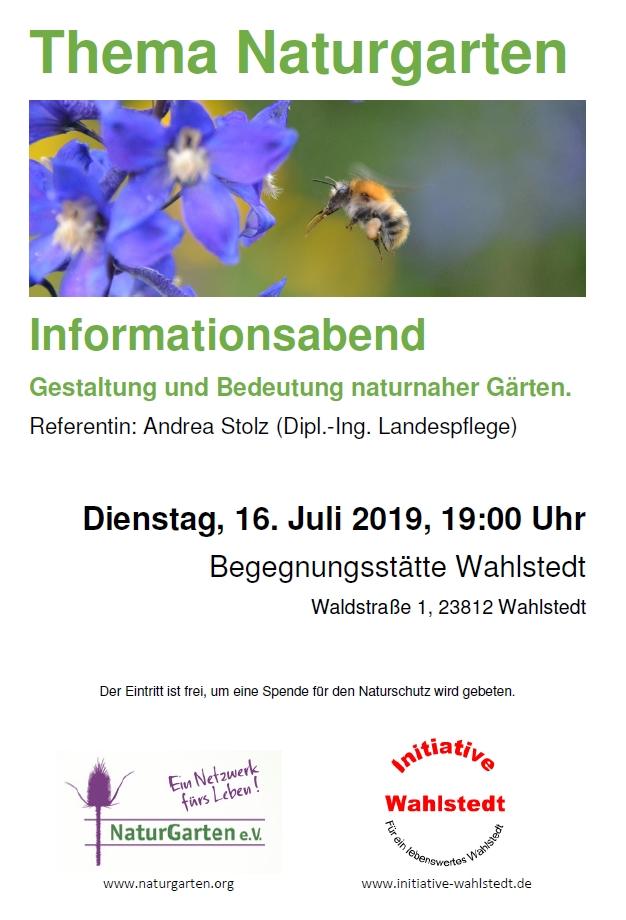 Informationsveranstaltung:  Thema Naturgarten